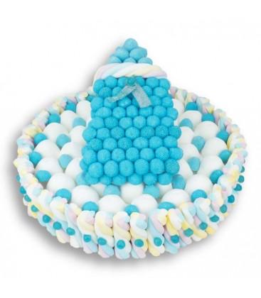 Pièce montée de bonbons naissance