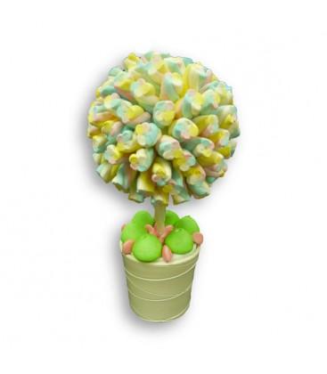 Arbres Twisty vert en bonbons