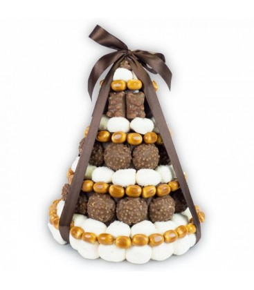 """Pièce Montée au chocolat """"Gentleman"""""""