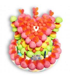 "Pièce montée ""Happy Birthday"""