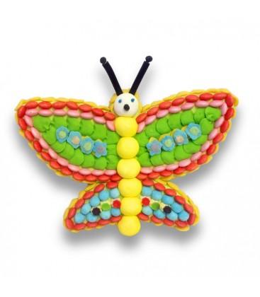 Le grand Papillon Multicolore