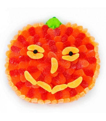 Tarte citrouille d'Halloween