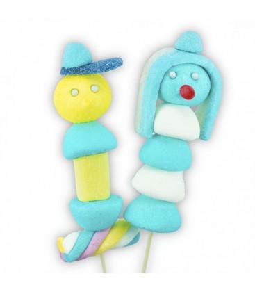 Les Bobos -Duo de Brochettes de bonbons
