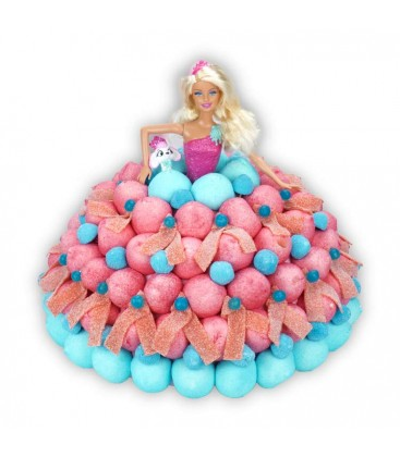 Princesse Barbie et son petshop