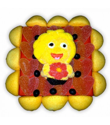 Carré Maya l'abeille