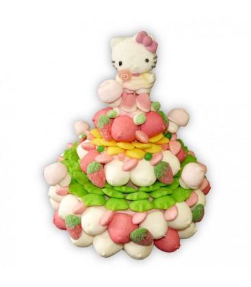 Pièce montée Hello Kitty Noël