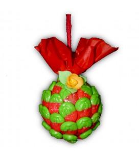 Boule de Noël - La Belle aux fraises