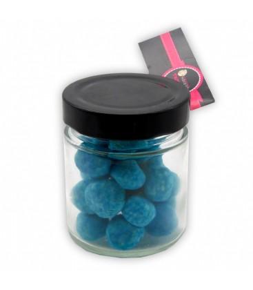 Pot Tin - Bonbonnière de Bonbons Kismache bleus