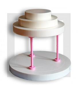 super manège en polystyrène pour création d'un gâteau de bonbons