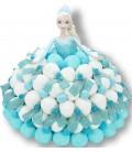 La Reine des Neiges - Gâteau de bonbons