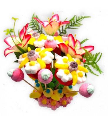ITALYS - composition florale de bonbons
