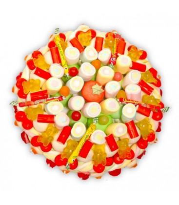 Plaisir- gâteau de bonbons à livrer à domicile ou en relay