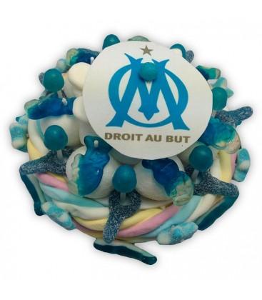 Petit Gâteau Foot en bonbons.