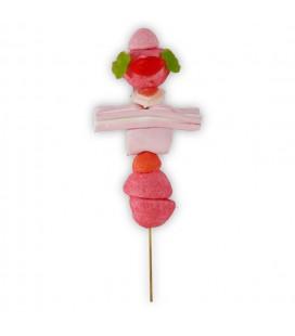 Mimi-Brochette de bonbons rose