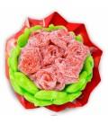 Rose en bonbons