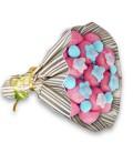 """Bouquet de bonbons - """"Ballade à Bordeaux""""-emb rayures"""