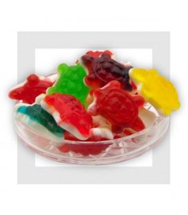 Les tortues gélifiées multicolores