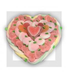 NUAGES coeur en bonbons