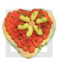 GUADELOUPE coeur en bonbons