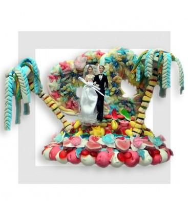 MARIAGE gâteaux de bonbons