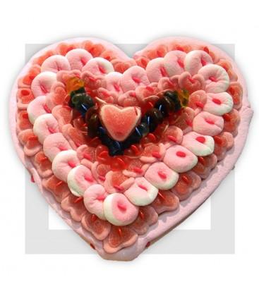 SCHTROUMPF gâteau de bonbons