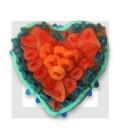 BLEU Coeur en bonbons