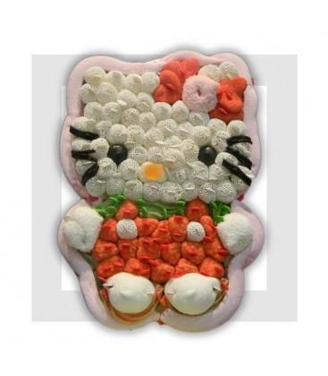 HELLO la petite chatte gâteau de bonbons