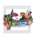 AVORIAZ Bûche de Noël en bonbons