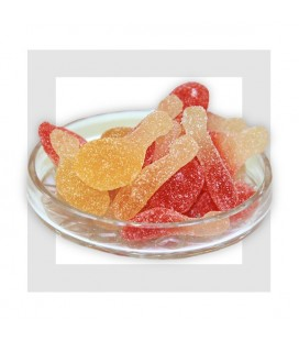 ORANGINA PIK -Haribo - bonbons acidulé pas cher