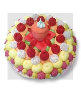 POMEGUES aux bonbons Haribo et autres..