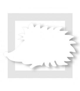 Le HERISSON en 2D en polystyrène