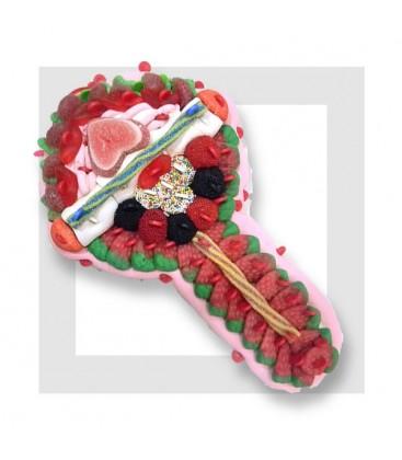 KARAOKE micro en bonbons haribo et autres