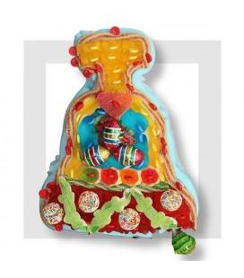 FRANCESCA Cloche de Pâques en bonbons