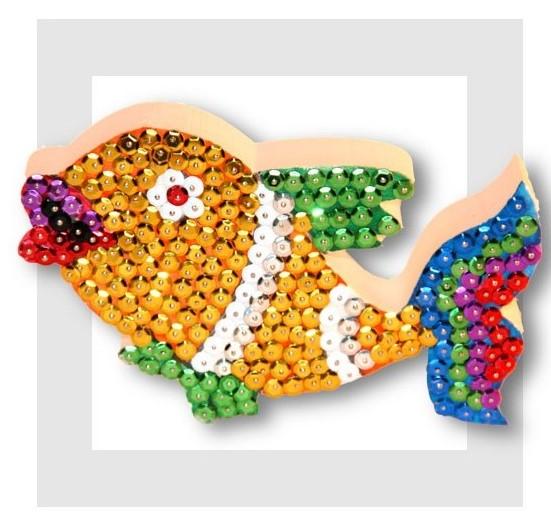 poisson en sequin