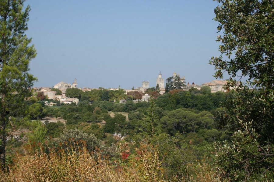 La ville d'Uzès sous un angle inhabituel